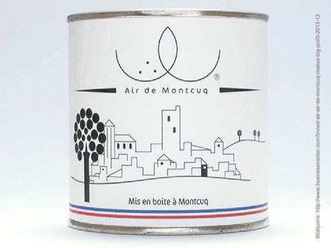 Air de Montcuq – Französische Frischluft aus der Dose